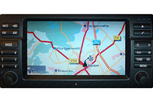 BMW - Navigation Displayreparatur Monitor 16x9