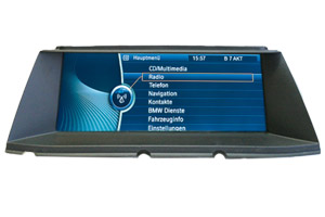 BMW 7 F01/F02 - Navi Professional / Business Reparatur