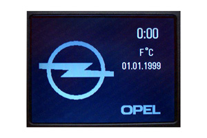 Opel - Repariertes CID-Display