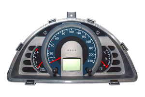 VW Fox - Reparatur Kombiinstrument Displayfehler/Totalausfall